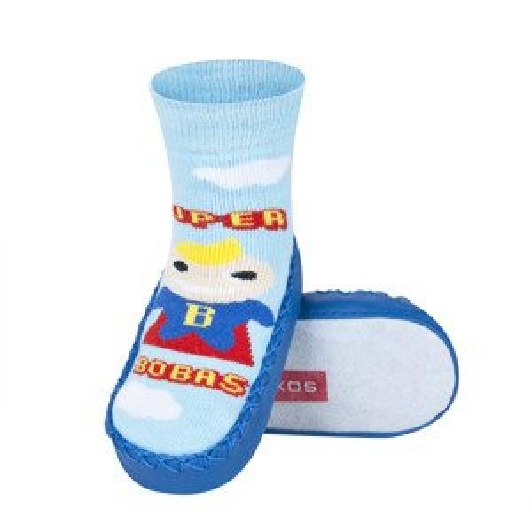 f3815b25c8b9 Dětské ponožkové papuče 98497E10