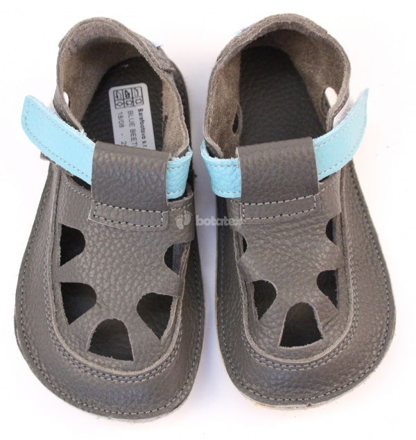 Baby Bare Shoes IO Blue Beetle - Summer Perforation 6cfa3d0a32