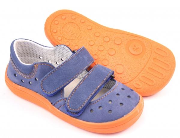 9ffc5cd31cd Zvětšit Beda Boty barefoot sandály modré