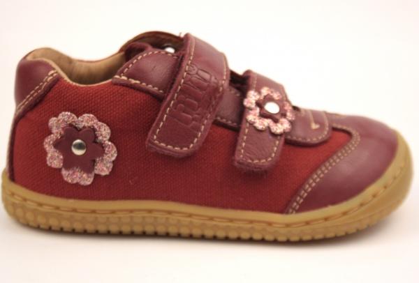 Filii barefoot - Leguan Nappa Textile Berry W 6fadf33b8c