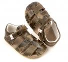 Ef Barefoot sandálky Khaki
