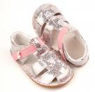 Ef Barefoot sandálky Silver