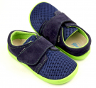 Beda Boty Barefoot Blue Lime 1W
