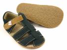 Ef Barefoot sandálky Tmavě zelené
