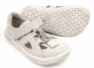 Jonap barefoot sandálky  SLIM šedá
