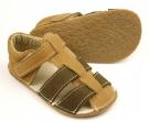 Ef Barefoot sandálky Olivová