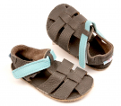 Baby Bare Shoes Blue Beetle - Sandals New 2020