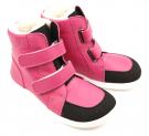 Baby Bare Shoes Febo Winter Fuchsia Asfaltico