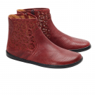 Zaqq Qylie Bordeaux Dámská barefoot obuv
