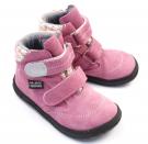 Jonap Barefoot dívčí boty B3SV s membránou růžová