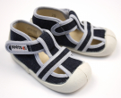 Sandálky BOOTS4U Tm.Modrá