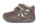 D.D. step Barefoot dívčí celoroční boty S070-80A