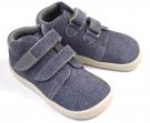 Beda Barefoot Denis chlapecké podzimní boty s membránou  BF 0001/W/M/02