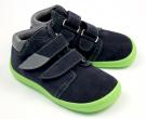 Beda Barefoot Marcus chlapecké podzimní boty s membránou  BF 0001/W/M/2