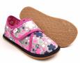 Barefoot papuče Ef 394 Kwiaty Fluo