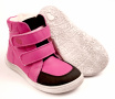 Baby Bare Shoes Febo Winter Fuchsia Asfaltico