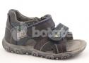Dětské  kožené sandály AC200-9BM