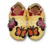 Kožené capáčky Fiorino - motýl