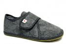 Barefoot papuče Ef šedé 01
