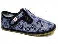 Barefoot papuče Ef 395 Jeans Kotwica