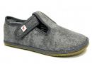 Barefoot papuče Ef šedé 02
