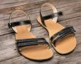 Barefoot sandále Lenka Summer - Black