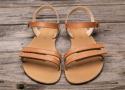 Barefoot sandále Lenka Summer - Brown