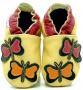 Kožené capáčky Fiorino - motýl - užší model