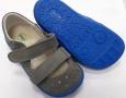 Beda  Boty barefoot sandály šedé