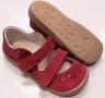 Beda  Boty barefoot sandály bordo