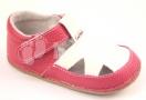 Pegres Bosé sandálky růžová/bílá