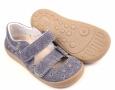 Beda  Boty barefoot sandály riflové