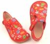 Barefoot papuče červené rybky