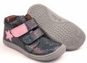 Filii barefoot M - Chameleon Velcro ocean Glitter Star