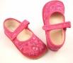 Barefoot papuče růžová srdíčka