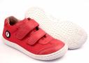 Filii barefoot M - Leguan velcro nappa/textile strawberry