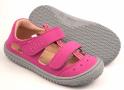 Filii barefoot W - Kaiman vegan pink velcro