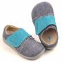 Boty Beda  Barefoot Riflová/modrá