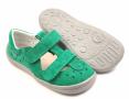 Beda  Boty barefoot sandály Zelené SD/W