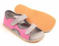 Beda Boty Barefoot sandálky Pink