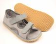 Beda Boty Barefoot sandálky Grey