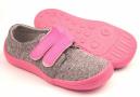Beda  Barefoot tenisky Softshell Pink
