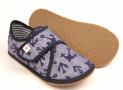 Barefoot papuče Ef 394 Jeans Kotwica