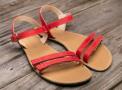 Barefoot sandále Lenka Summer - Red
