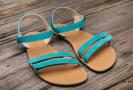 Barefoot sandále Lenka Summer - Tyrkys