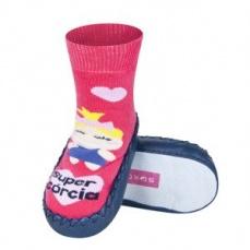 Zvětšit Dětské ponožkové papuče 98497B10