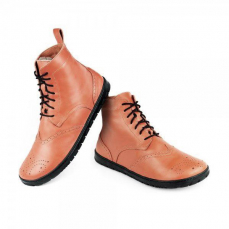 Zaqq Quintic Winter Brogue Cognac