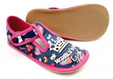 Zvětšit Ef barefoot dívčí bačkory 395 World Girl