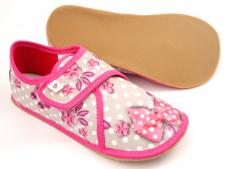 Zvětšit Ef barefoot dívčí bačkory 394  Butterfly