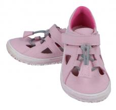Zvětšit Jonap barefoot sandálky  SLIM růžová